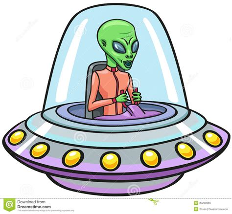 UFO. stock vector. Illustration of pilot, flight ...