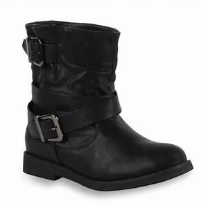 Coole Kostüme Damen : coole damen stiefeletten biker boots lederoptik schuhe 98422 gr 36 41 ebay ~ Frokenaadalensverden.com Haus und Dekorationen