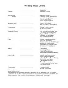 formal wedding program wording simple wedding ceremony outline pictures to pin on