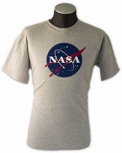 NASA Logo Tee Shirt - Gray - NASA Apparel : The Space Shop
