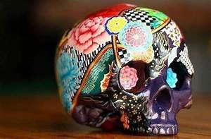 skull art on Tumblr