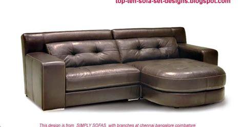 Top Ten Sofa Set Designs From India