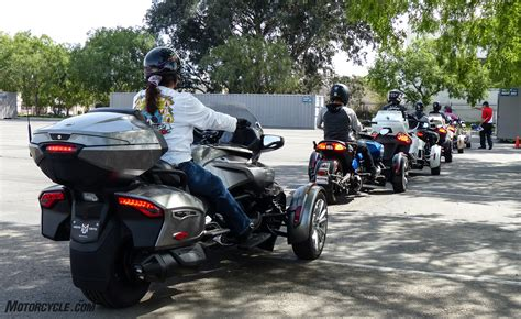 Learning To Ride On A Can-am Spyder F3