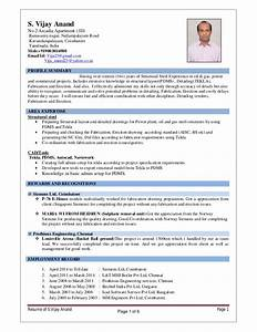structural designer vijayanand With structural steel fabricator resume sample