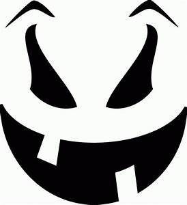 Toothy, Smile, Pumpkin, Face, Free, Pumpkin, Carving, Template
