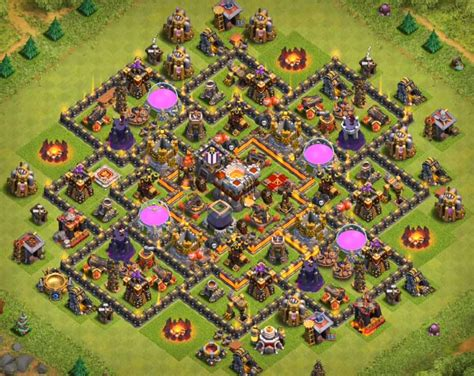th8 to th11 farming trophy top 40 best town 10 bases 2017 war farming th8