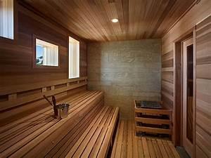 24 Luxury Home Sauna Ideas