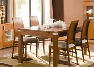 meuble table a manger table cuisine ovale maisonjoffrois With meuble salle À manger avec table salle a manger bois et verre