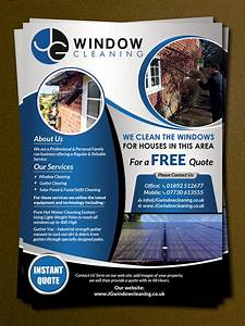 Window Cleaning Flyer Modern Elegant Window Cleaning Flyer Design For Jg