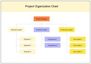 Project Management Organization Chart