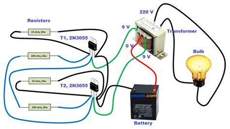 led len 12v trafo l 224 m mạch k 237 ch điện từ 12v l 234 n 220v đơn giản