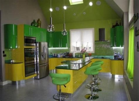 yellow green kitchen 20 modern kitchens decorated in yellow and green colors 1210