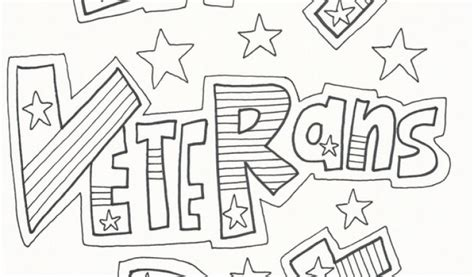 Get This Veteran's Day Coloring Pages Printable Udb51