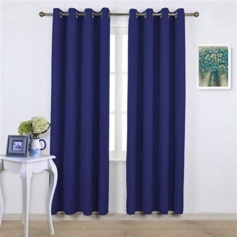 royal blue curtains royal blue thermal insulated blackout curtains 4 www