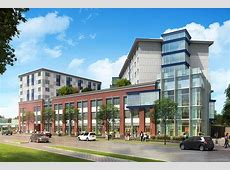 Seven Story Conway Center Project Under Construction For