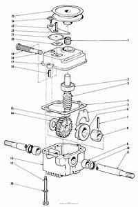 Toro 19221  Whirlwind Lawnmower  1968  Sn 8000001