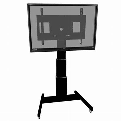 Tv Mobile Flat Stand Vertical Cart Screen