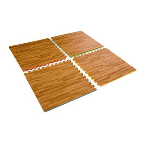 Impact Floor Mats by Marcy Reversible High Impact Flooring Interlocking Floor