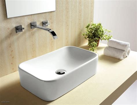 Moda Reggio Rectangular Basin Sink Washbasin Bathroom