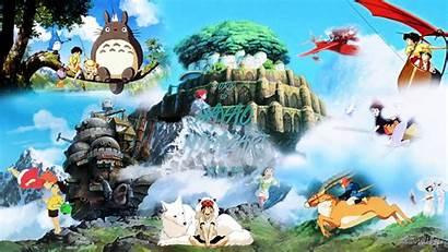 Miyazaki Hayao Wallpapers Deviantart Background Willstyle Desktop