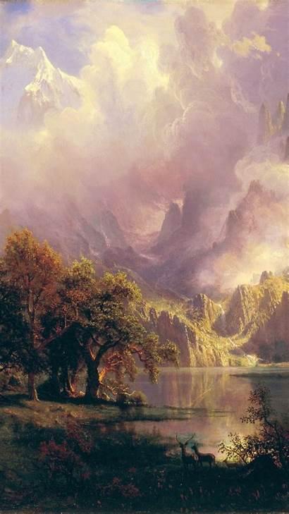 Iphone Painting Classic Bierstadt Albert Renaissance Famous