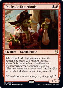 dockside extortionist  commander  spoiler