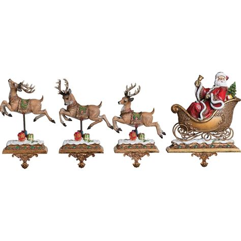 28 best santa and reindeer holders christmas stocking