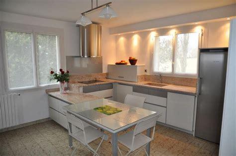 modele cuisine blanc laqué modele cuisine blanc laque kirafes