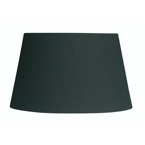 8 inch l shade black cotton drum l shade 8 inch s901 8bl oaks lighting