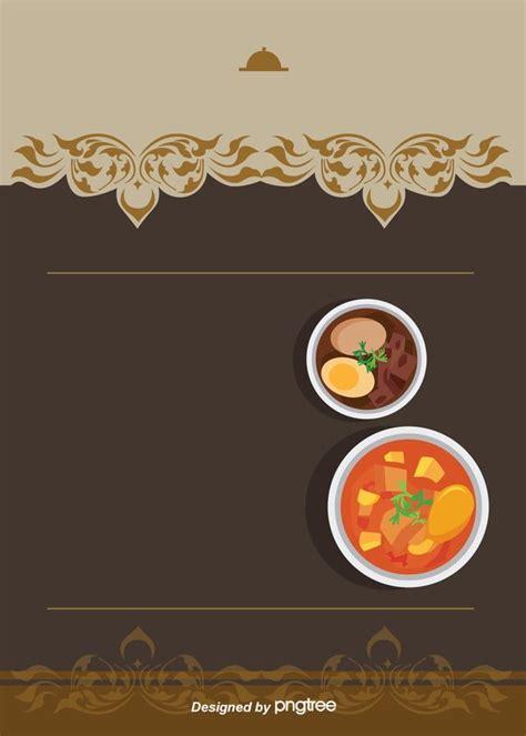 simple food  food industry menu background simple