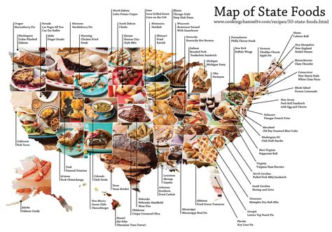 usa cuisine the signature food of each state mental floss