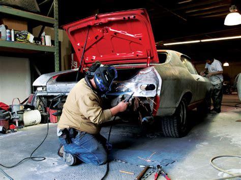 1968 Camaro Auto Body Repair  Structure & Color
