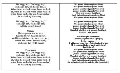testo canzone oh happy day dolci e canzoni di natale attenzione ai carboidrati