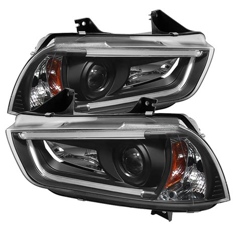 spyder auto dodge charger 11 14 projector headlights