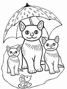 Dibujos para Pintar de Gatos Fantasticos Dibujos de Gatos