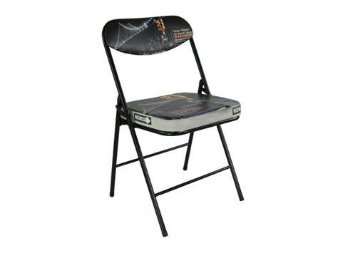lot de 4 chaises pliantes quot new york bridge quot 54372