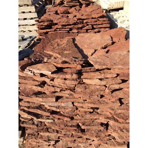 piedra vista natural roja azulejos tienda