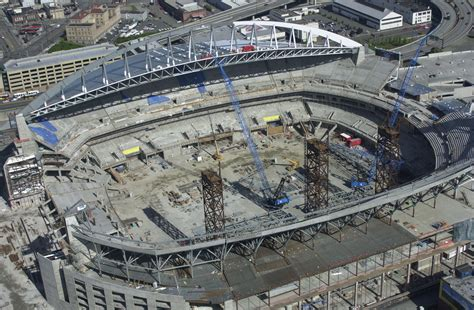 Fileqwest Field Seahawks Stadium Under Construction