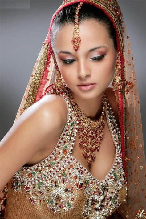 Stylish And Elegant Indian Style Wedding Dress  The Hairs