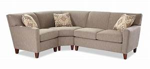 Three piece sectional sofa with raf loveseat by for Sectional sofas wolf furniture