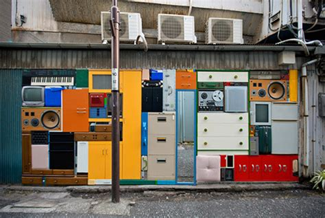 Real Life Tetris With Reclaimed Objects Pics Psfk