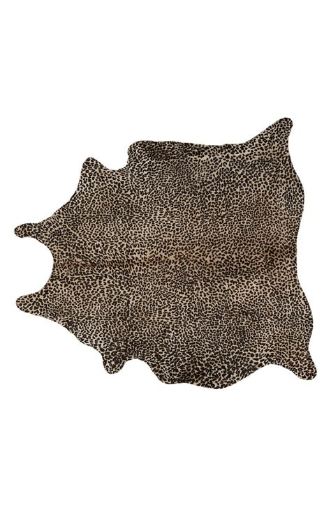 Leopard Cowhide Rug by Mina Victory Leopard Spotted Cowhide Rug Nordstrom