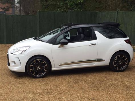 Citroen Ds3 For Sale by Used White Citroen Ds3 For Sale Dorset