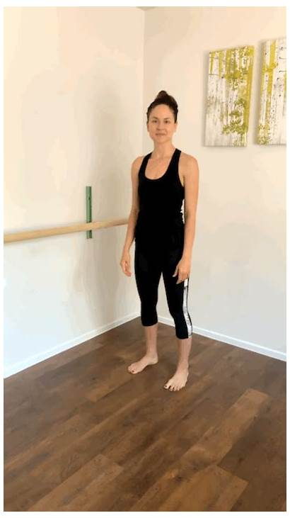 Wide Heel Lifts Second Alternating Position Workout