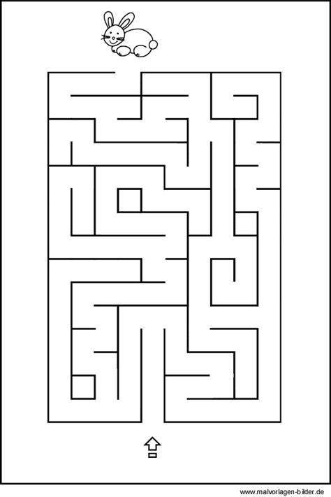 labyrinth malvorlagen kostenlos zum ausdrucken