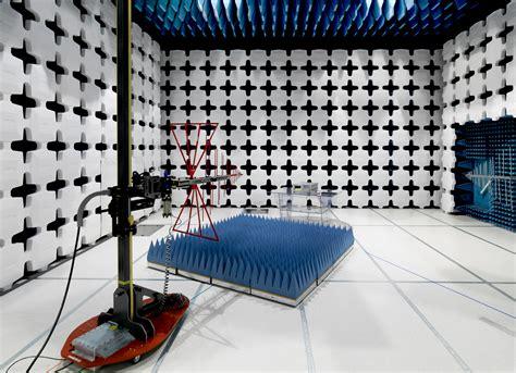 Keysight News Archive | Semi-anechoic EMC test chamber