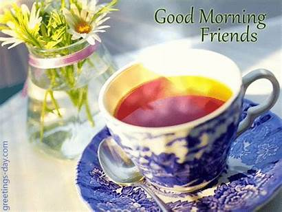 Morning Greetings Gifs Animated Friends Cards