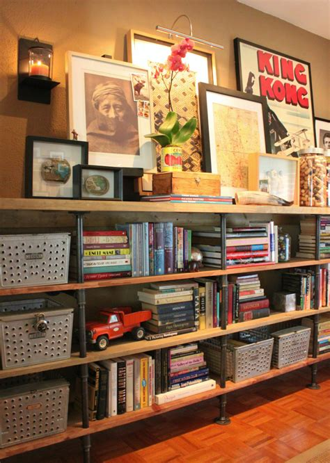 And Bookshelf by 23 Diy Plans To Build A Pipe Bookshelf Guide Patterns