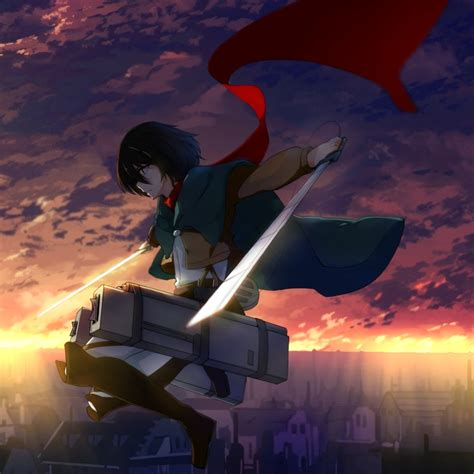 wallpaper engine mikasa attack  titan shingeki