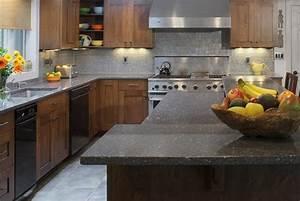 IceStone Heirloom Grey Full Kitchen Countertops - Capitol ...